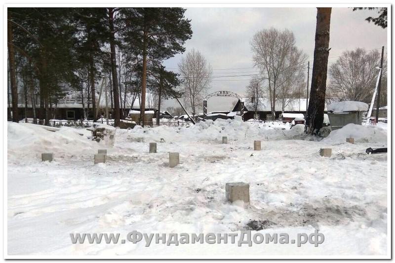 Декабрь 2016, г.Красноуральск, 15 свай