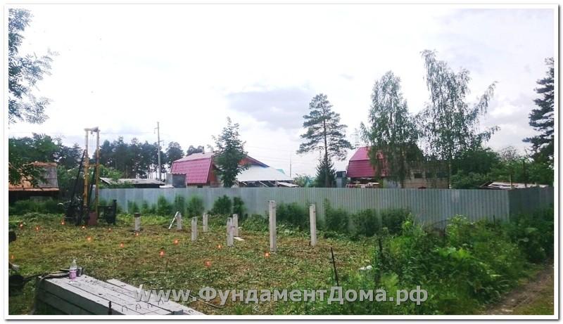 Июль 2017, п. Калиновский, 28 свай
