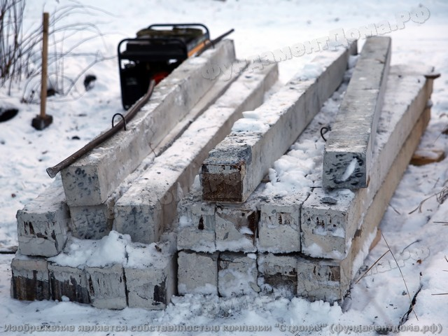 Январь 2018 г. п. Рудный. 15 свай